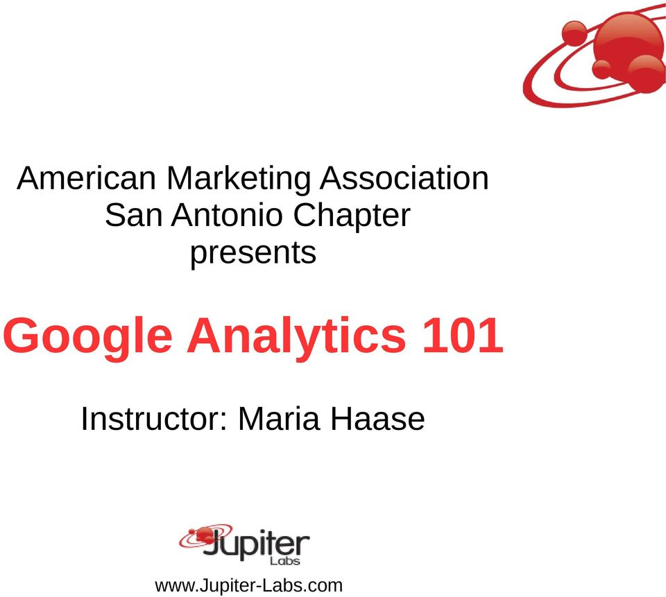 Chapter presents Google
