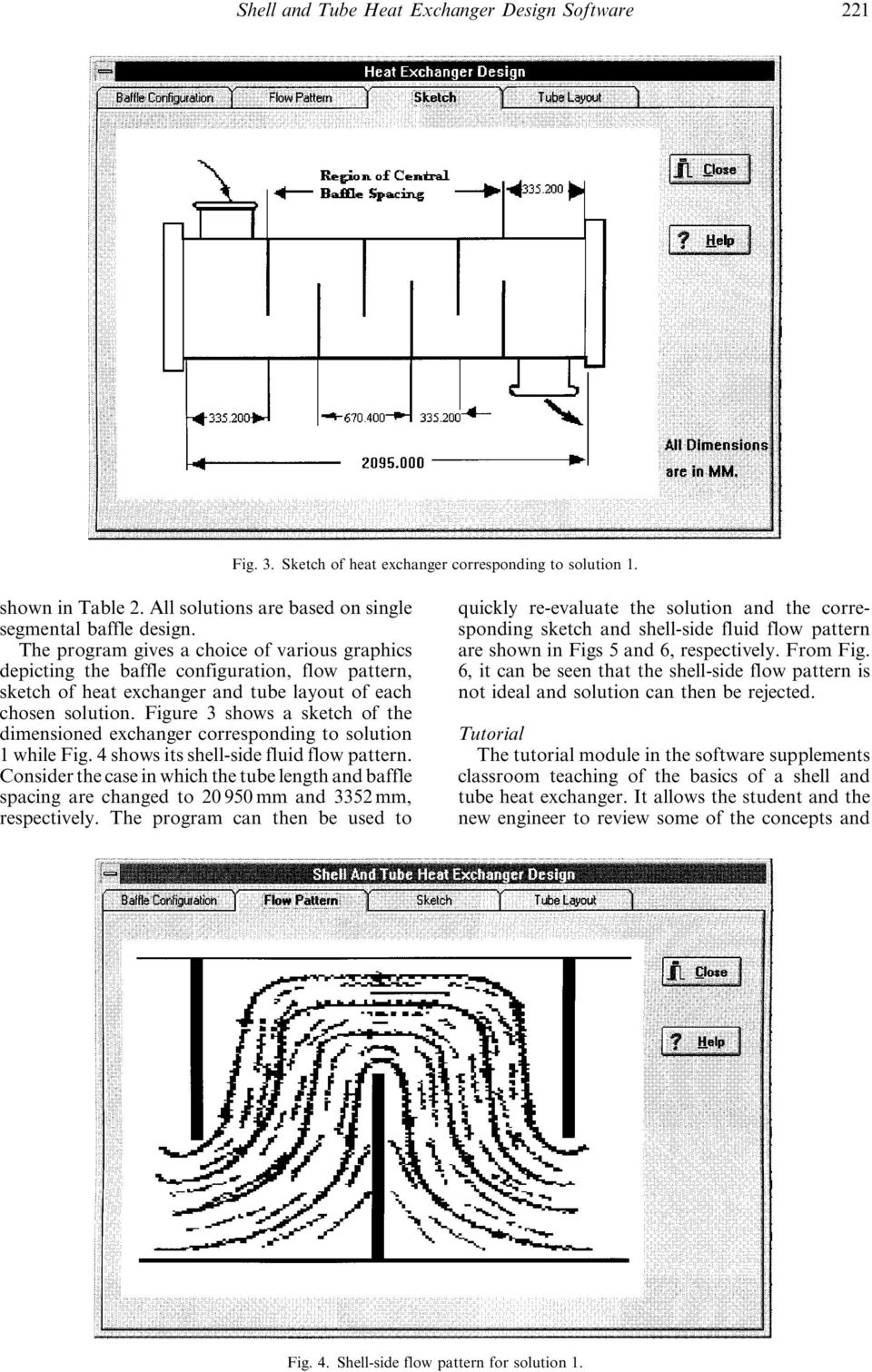 Shell and Tube Heat Exchanger Design Software for Educational