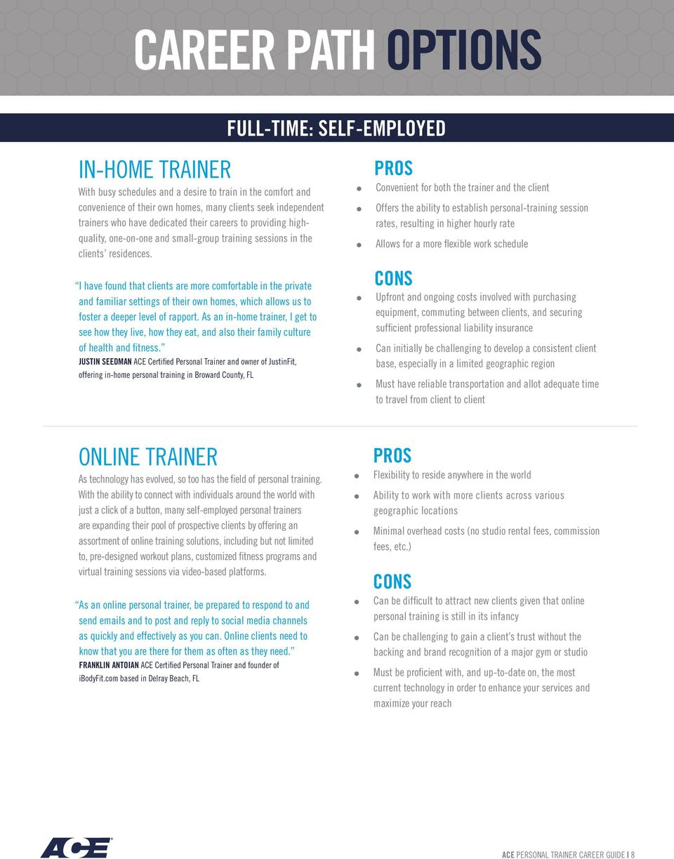 Becoming A Personal Trainer A Career Guide For An Evolving Industry