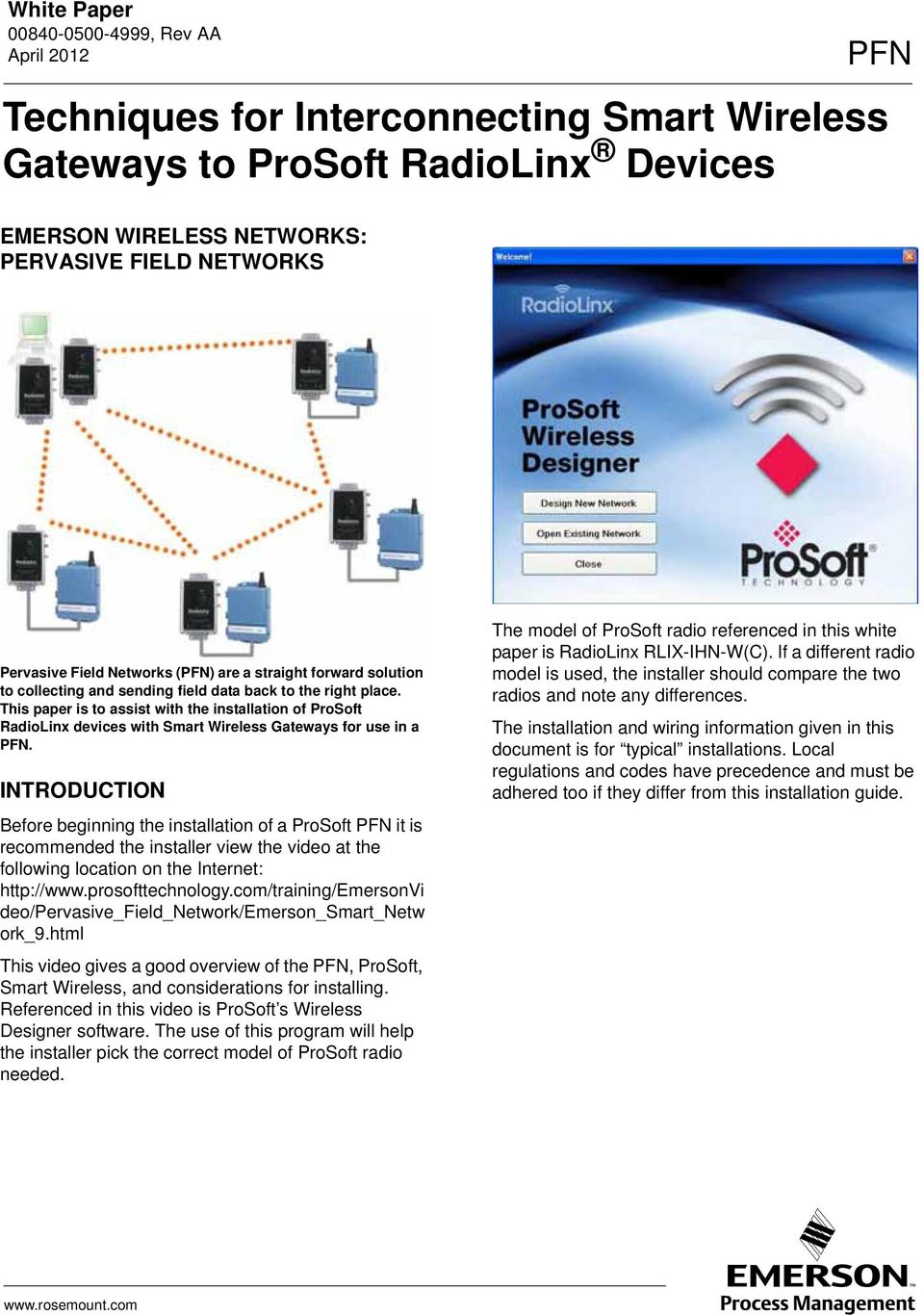 Techniques For Interconnecting Smart Wireless Gateways To Prosoft Poweroverethernet Poe On Industrialbased Networking Fig 2 Introduction Before Beginning The Installation Of A Pfn It Is Recommended Installer View