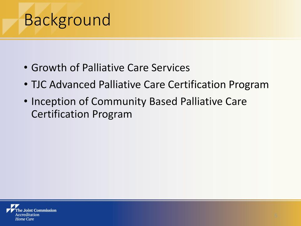 Joint Commission Accreditation - PDF