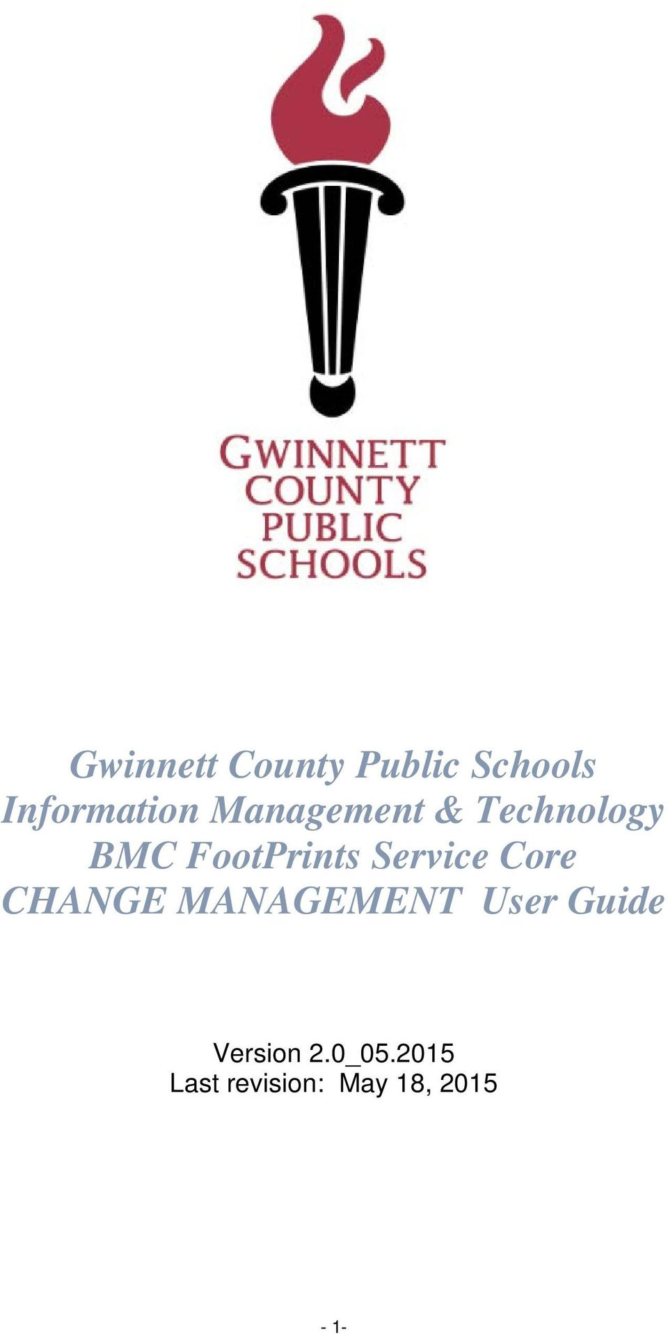 Gwinnett County Public Schools Information Management