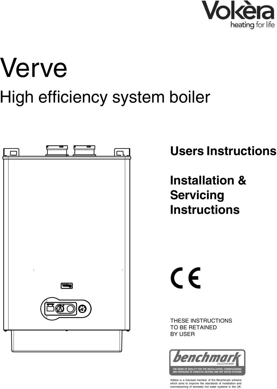 Verve. High efficiency system boiler. Users Instructions ...