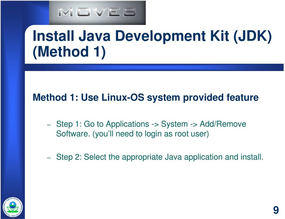 -> System -> Add/Remove Software.