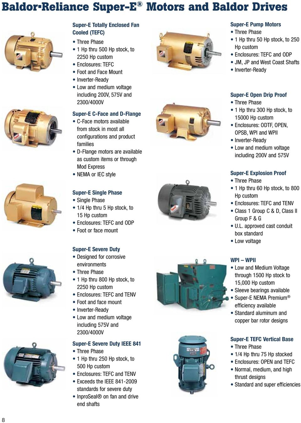 A Proven Approach To Reducing Electricity Costs Pdf Motors On Baldor 5 Hp Single Phase Electric Motor Wiring Diagram As Custom Items Or Through Mod Express Nema Iec Style Super E