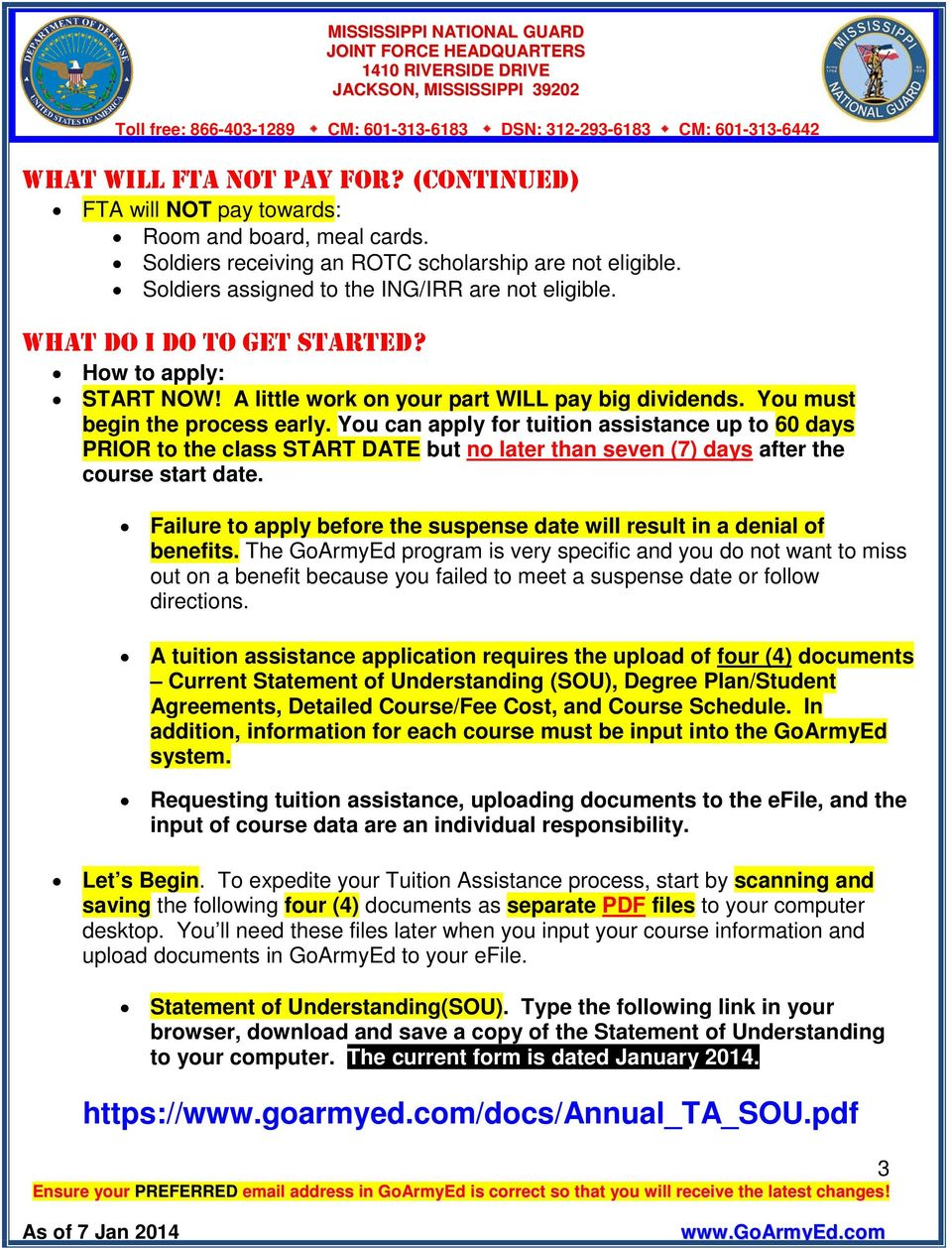 Marvelous Goarmyed Federal Tuition Assistance Pdf Home Remodeling Inspirations Genioncuboardxyz