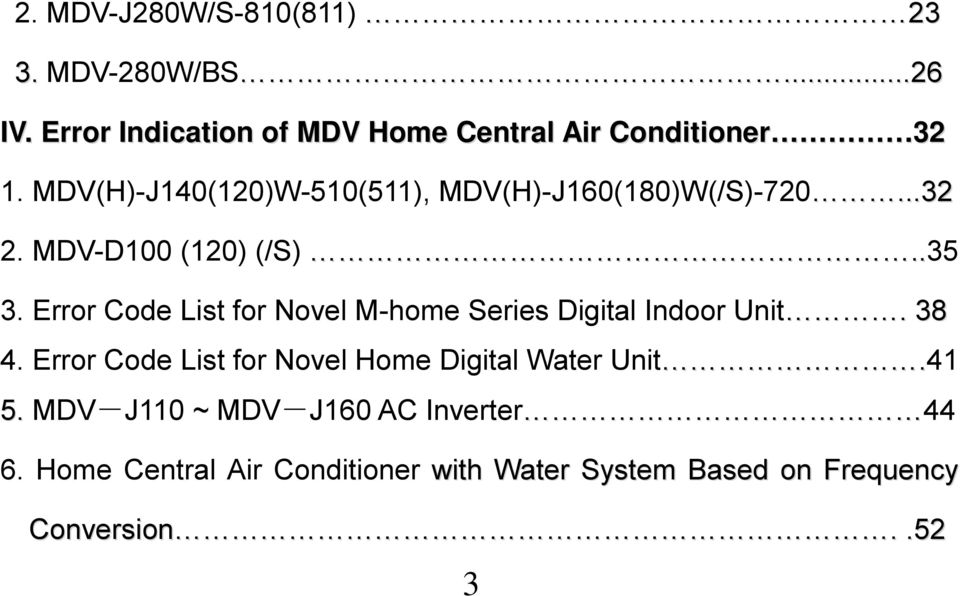 Midea Commercial Air Conditioner Malfunction Handbook - PDF