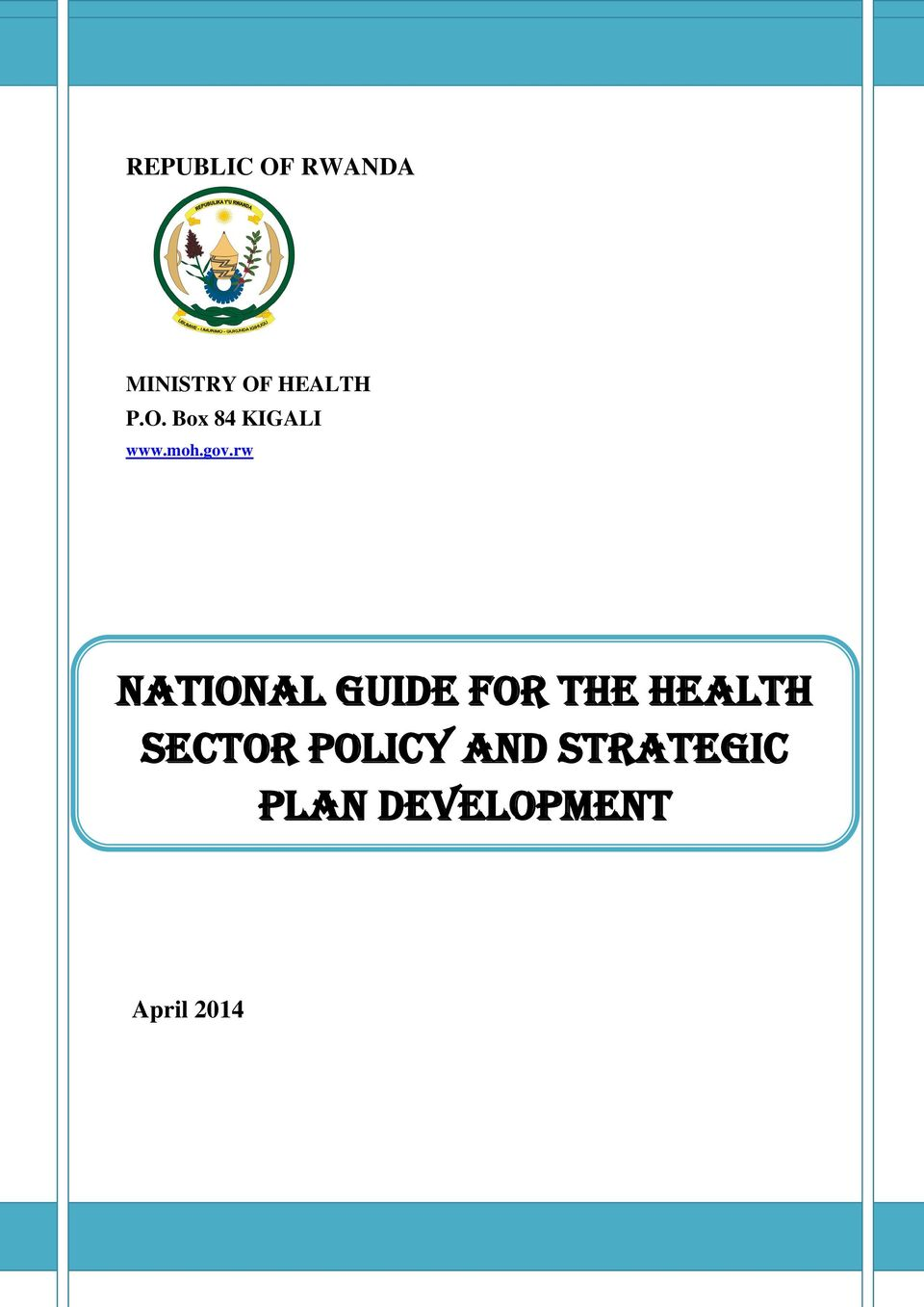 rw National Guide for the Health Sector