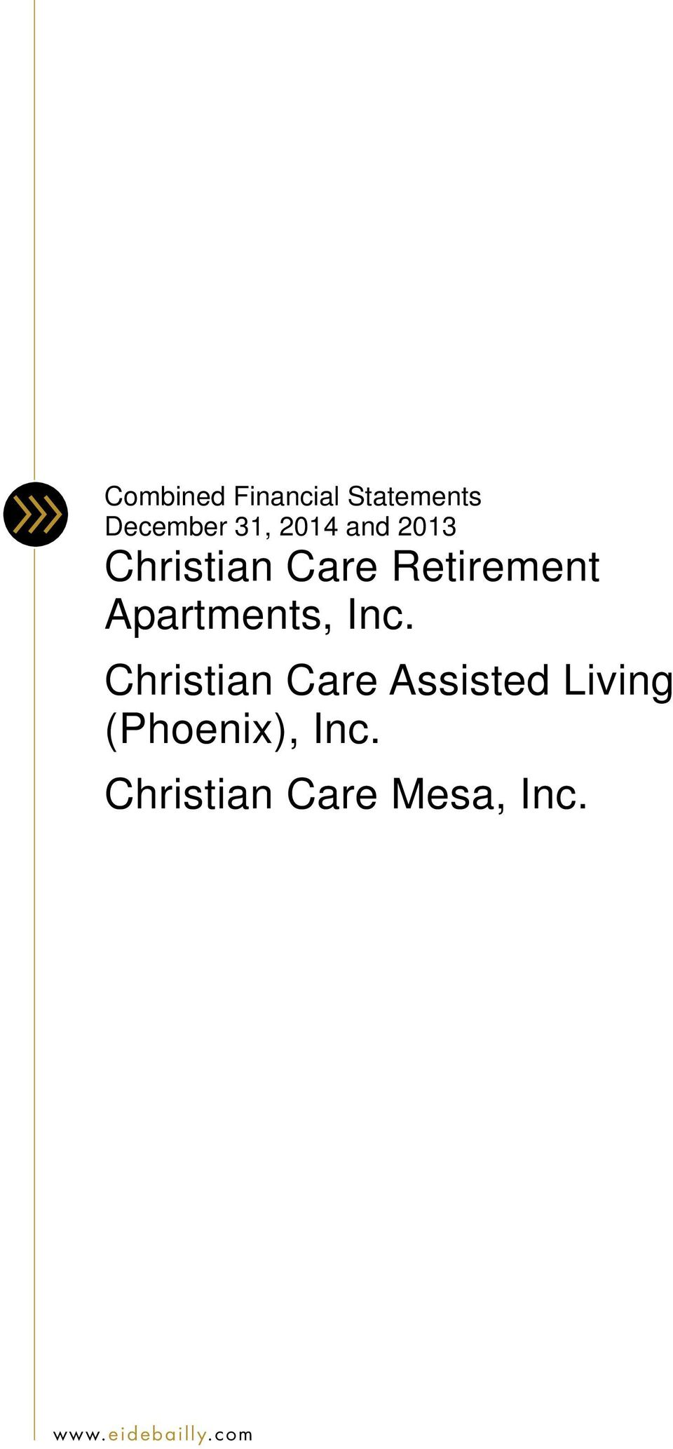 Christian Care Assisted Living