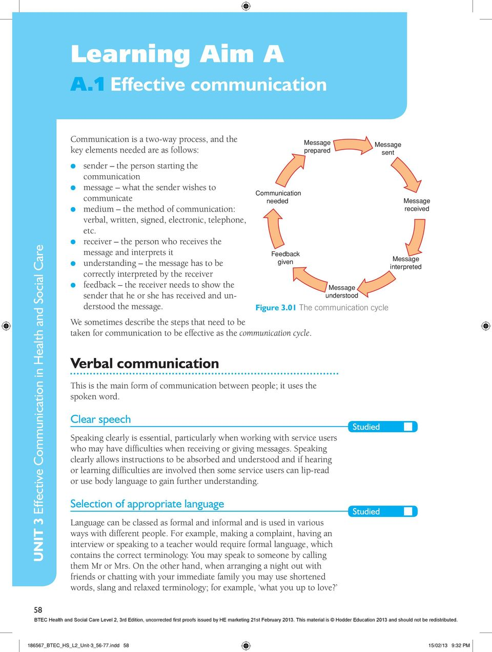 why is communication so important in health and social care