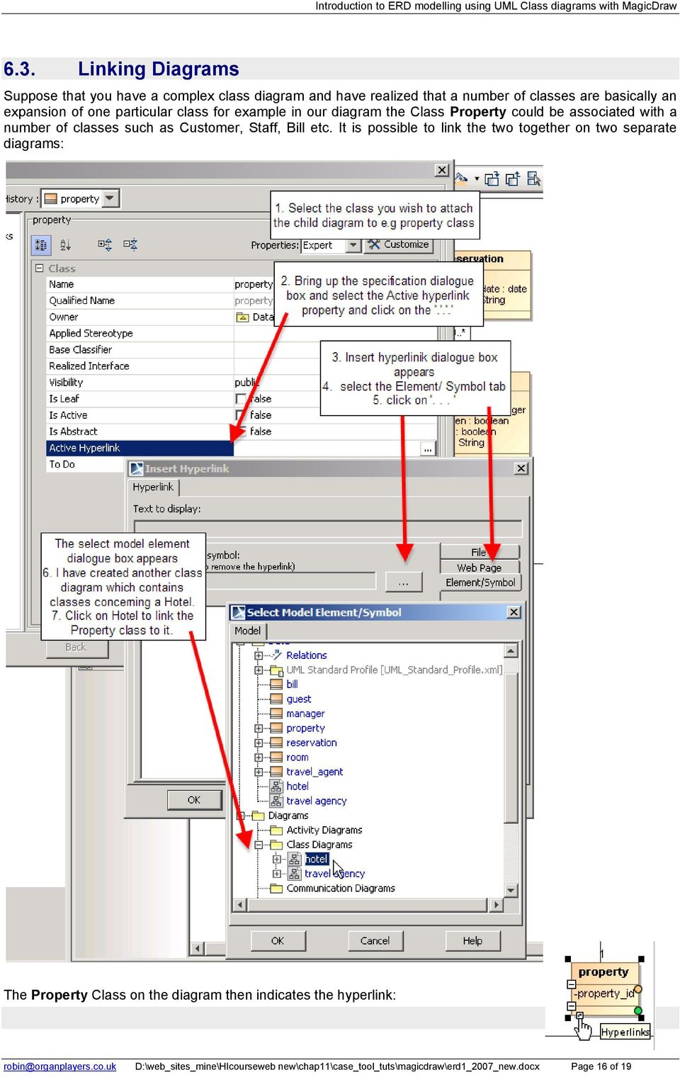 Introduction to erd modelling using uml class diagrams with customer staff bill etc ccuart Images