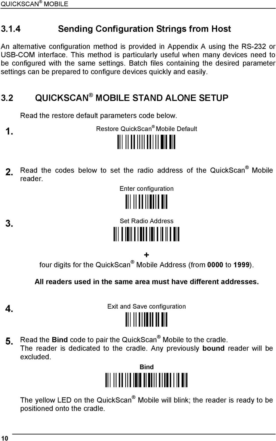 QuickScan Mobile  Reference Manual - PDF