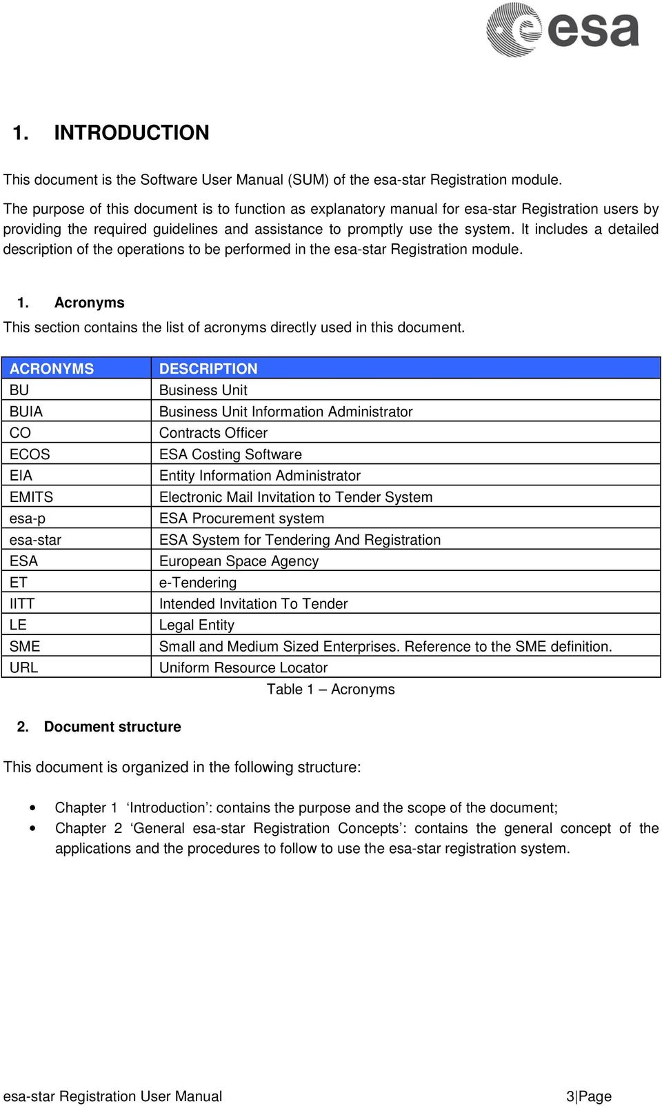 Esa star registration user manual pdf it includes a detailed description of the operations to be performed in the esa star stopboris Image collections