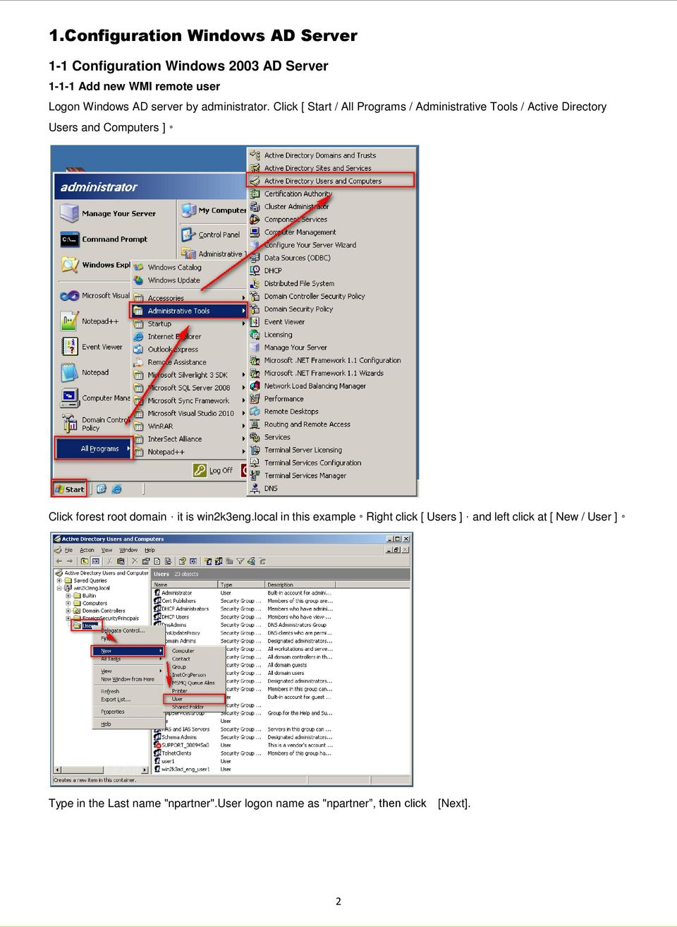 WMI syslog management of Windows AD Server V PDF
