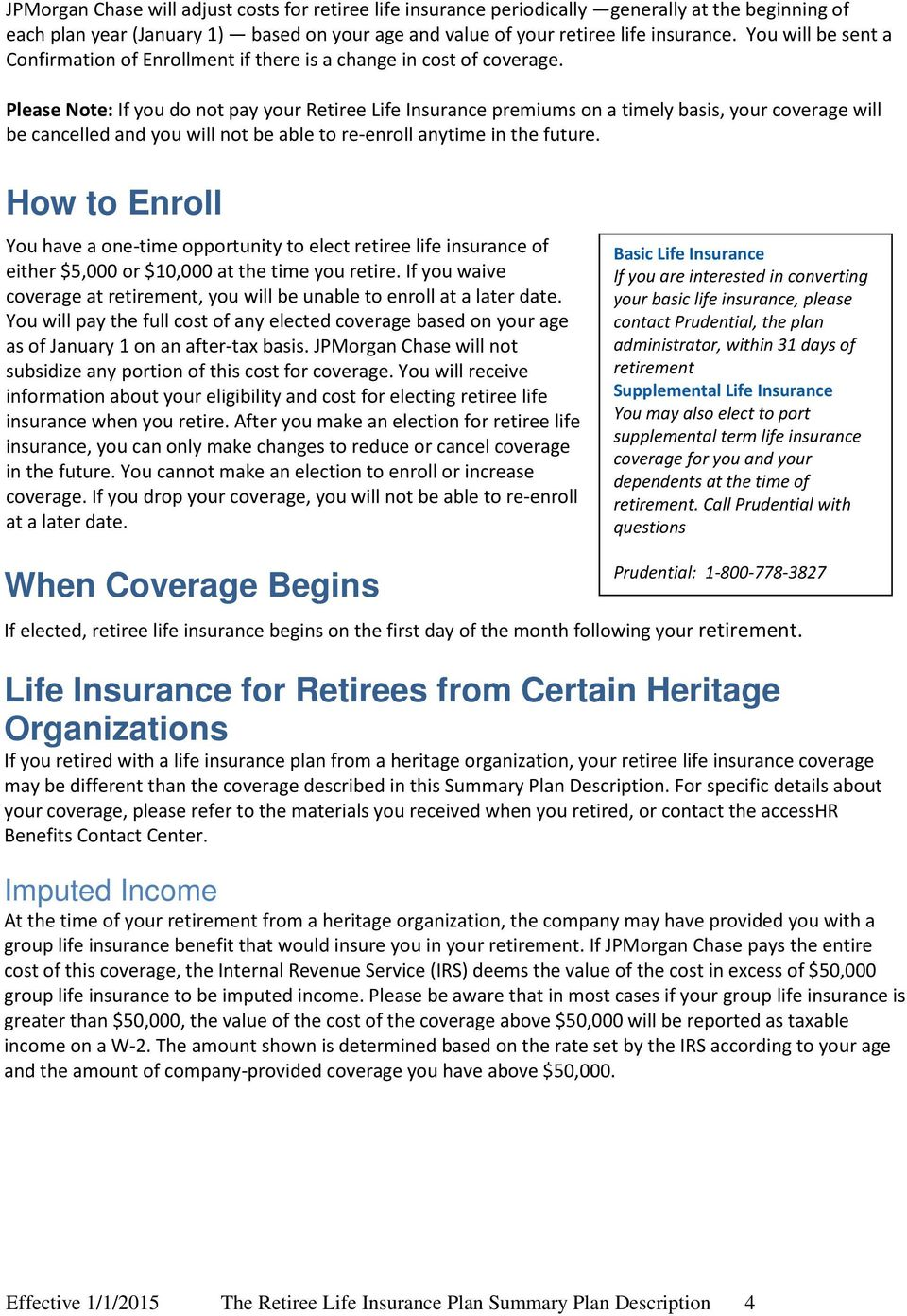 Pension Insurance: Certificate of Insurance and Voluntary Contributions 51