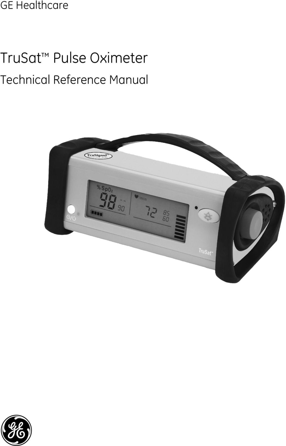 How to replace battery of ge ohmeda trusat pulse oximeter no power.