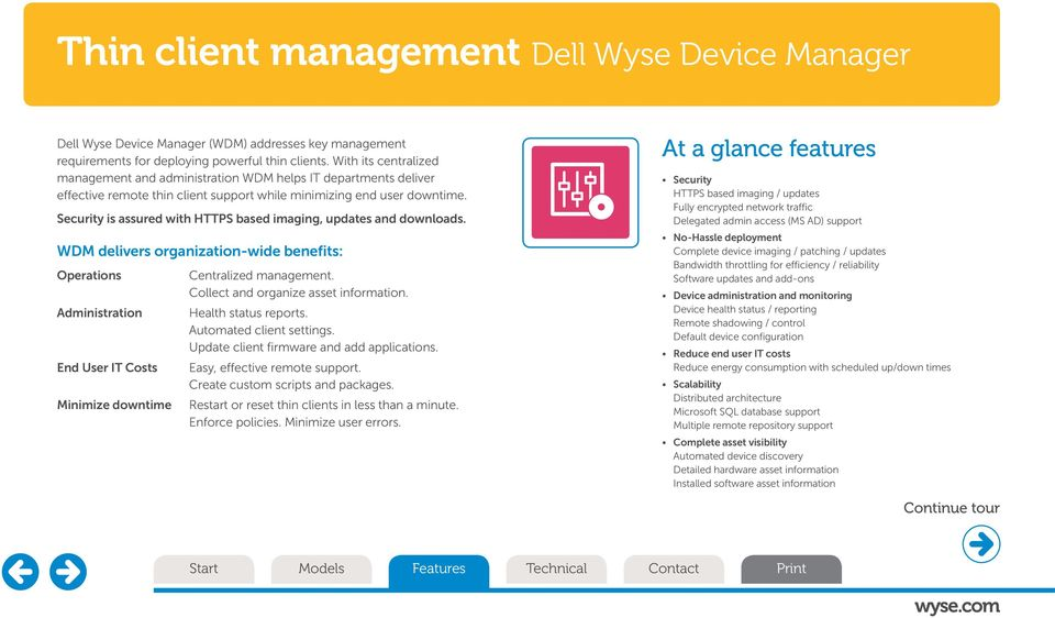 Dell Wyse Z class thin clients  - PDF
