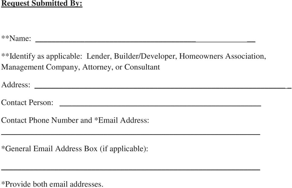 CONDOMINIUM RECERTIFICATION OR RE-APPROVAL COVER LETTER/DOCUMENT ...
