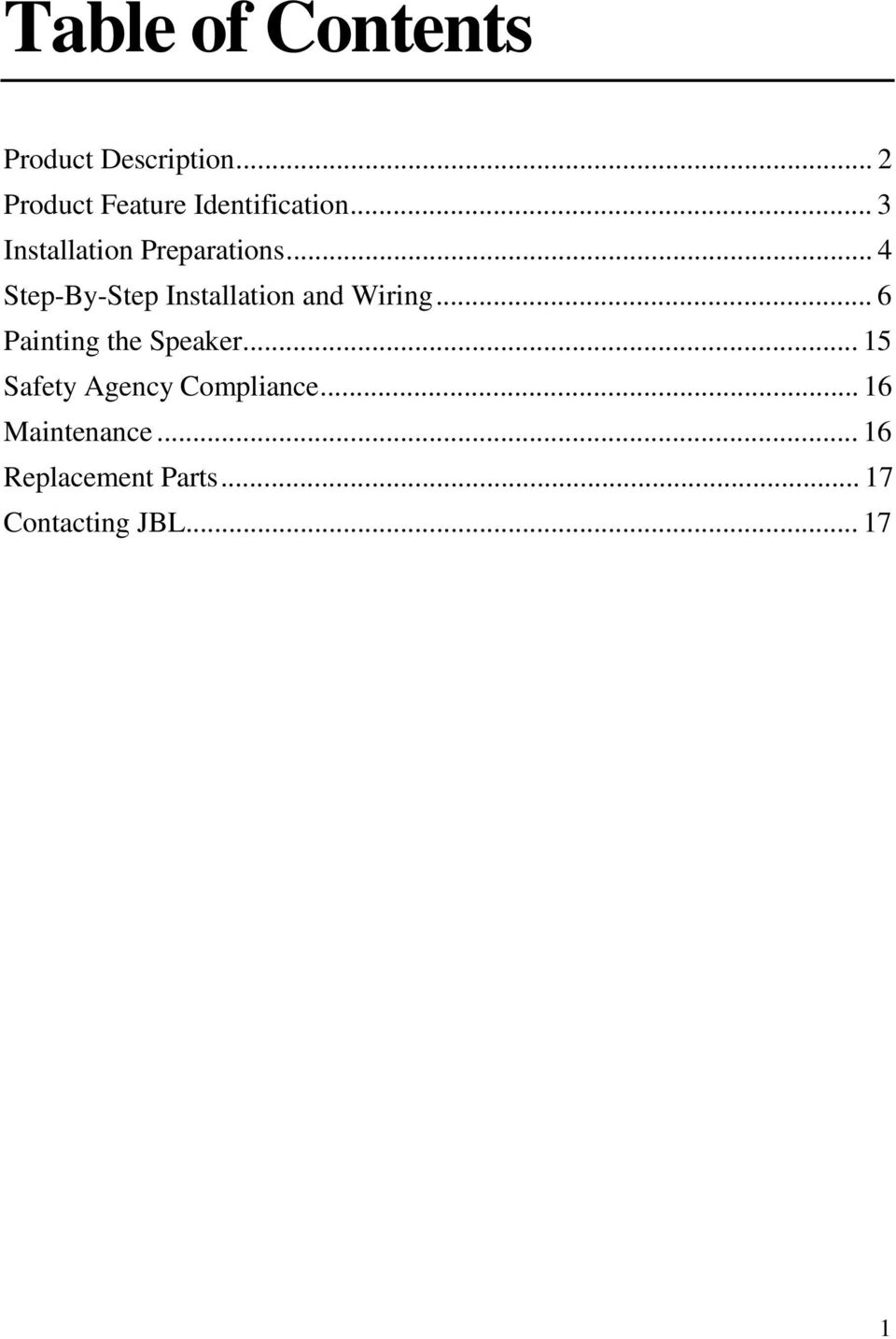 Control Contractor Ceiling Loudspeakers Owner S Manual Pdf