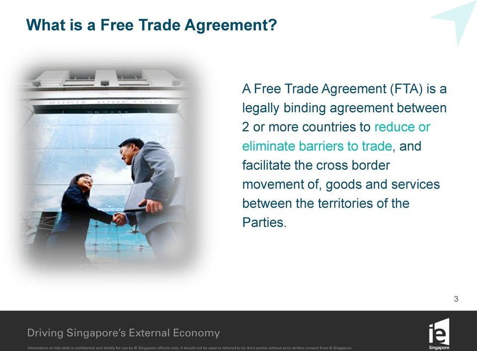 Advantages Of Free Trade Agreements Ftas Between Singapore And