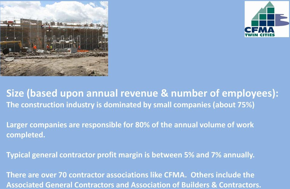 Construction Financial Management Association  Jeremy Weller & Mike
