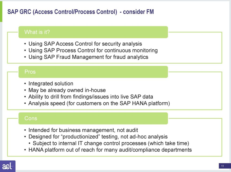 AUDITING AND THE SAP ENVIRONMENT - PDF