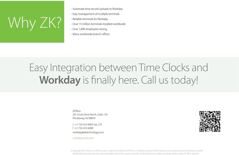 Cost Effective time clock solution for Workday - PDF