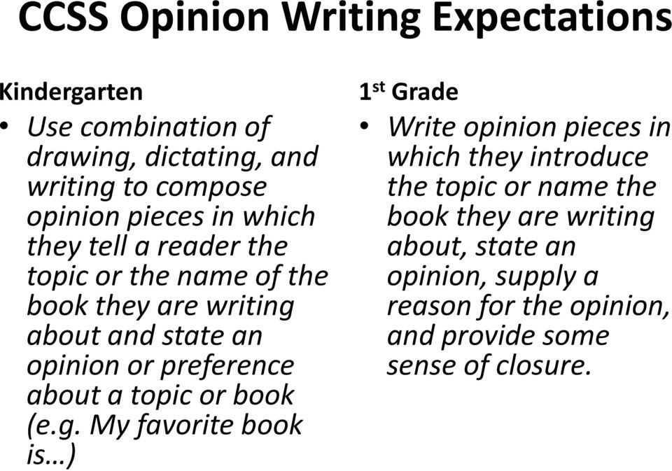 preference about a topic or book (e.g.