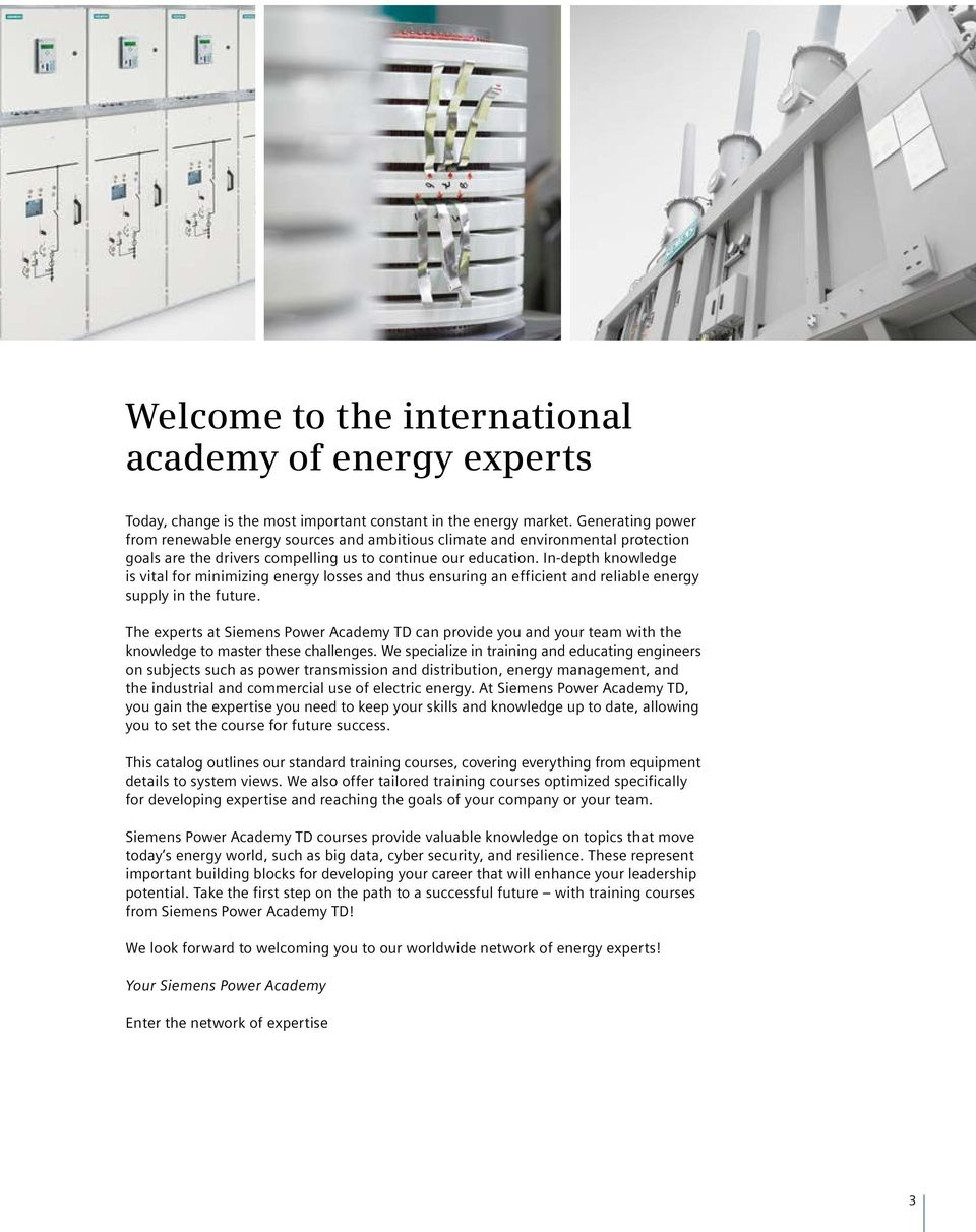 Enter The Network Of Expertise Pdf Hb3 Generator Circuitbreaker Switchgear In Depth Knowledge Is Vital For Minimizing Energy Losses And Thus Ensuring An Efficient