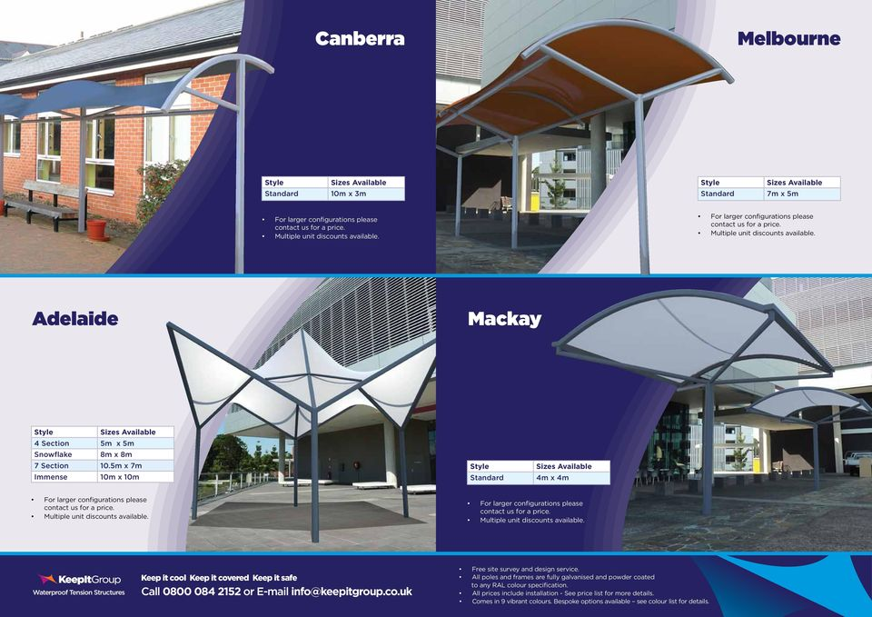 Shade Sails And Waterproof Tension Structures Pdf