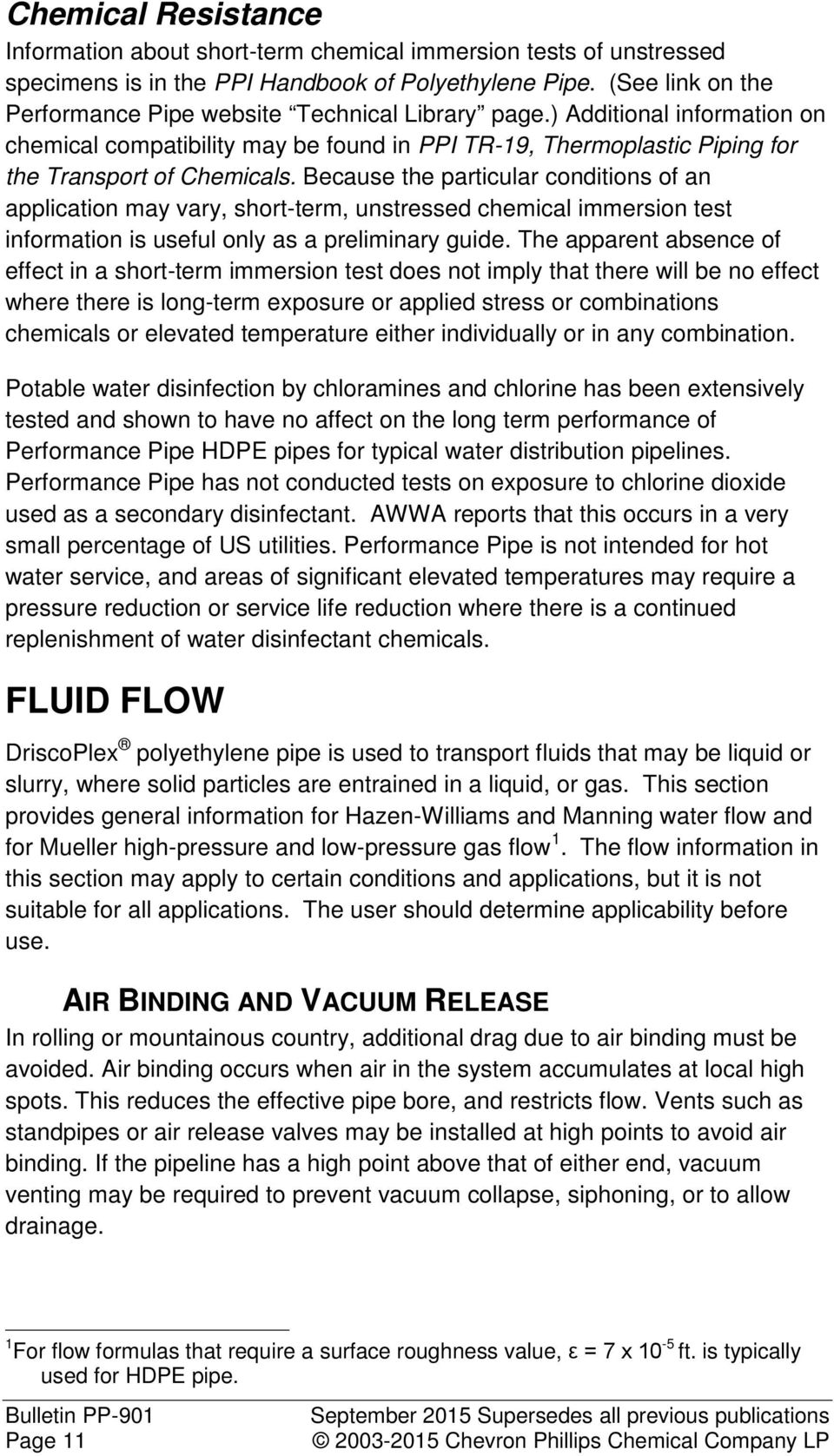 The Performance Pipe Field Handbook - PDF