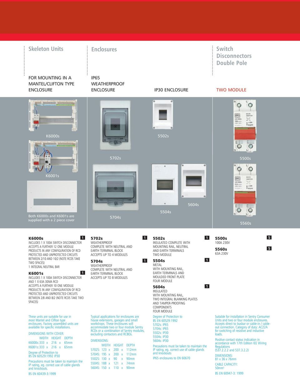 Mk Electric Sentry Circuit Protection Solutions Pdf Box Rcd Switch Off In Addition House Light Wiring Diagram And Unprotected Circuits Between 2 10 Note Rcds Take Two