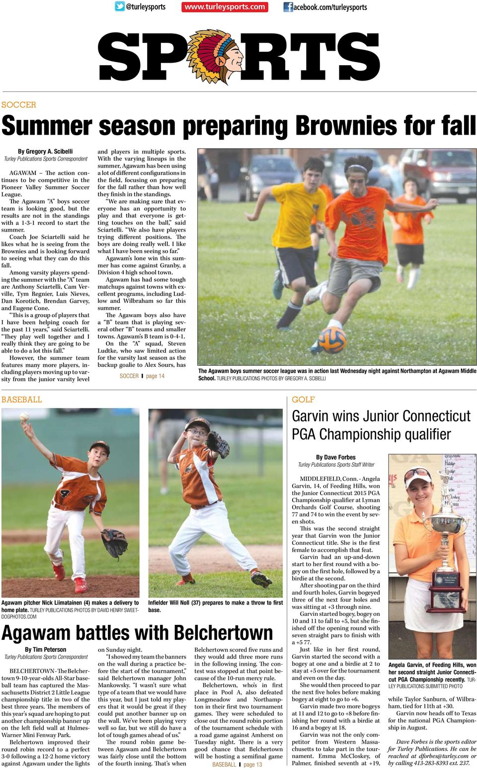 The Agawam A boys soccer team is looking good, but the results are not in