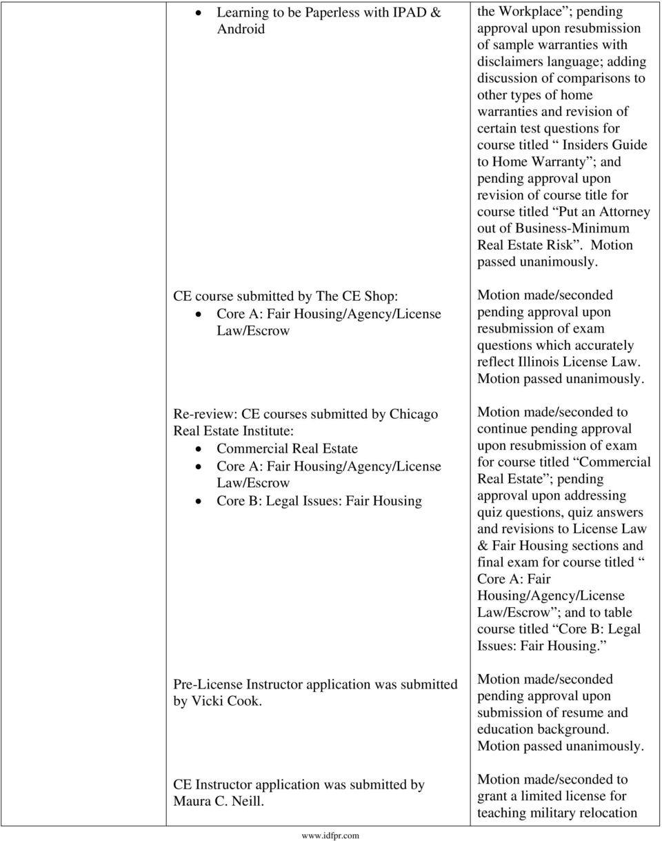 Illinois Department Of Financial And Professional Regulation Pdf