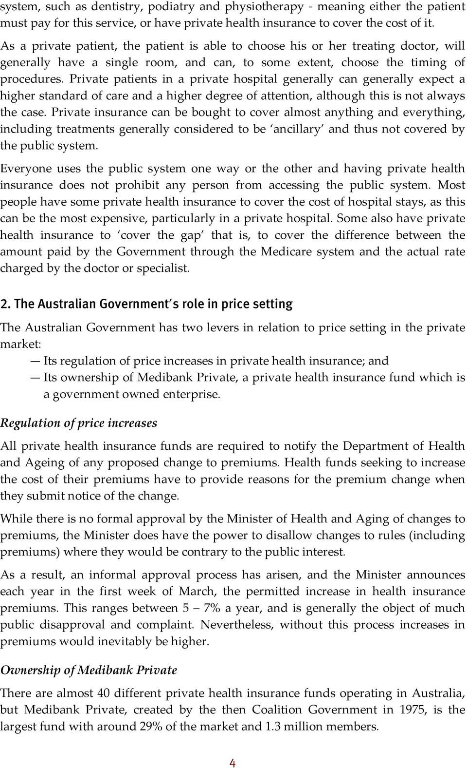 finding the balance between public and private health the