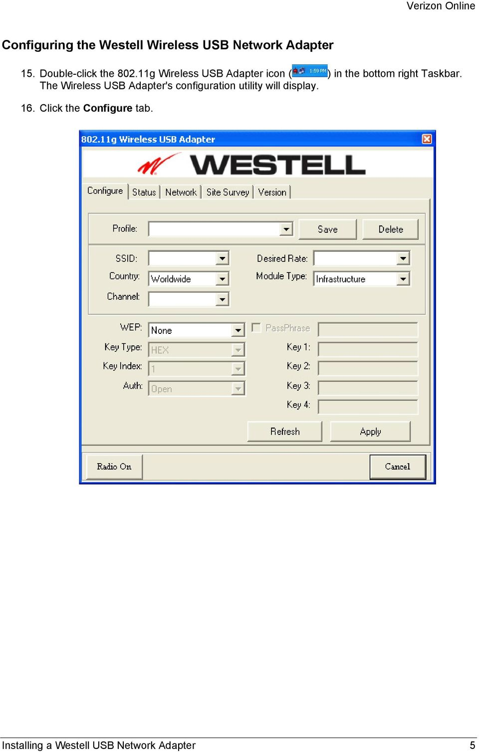 Installing a westell usb network adapter pdf.