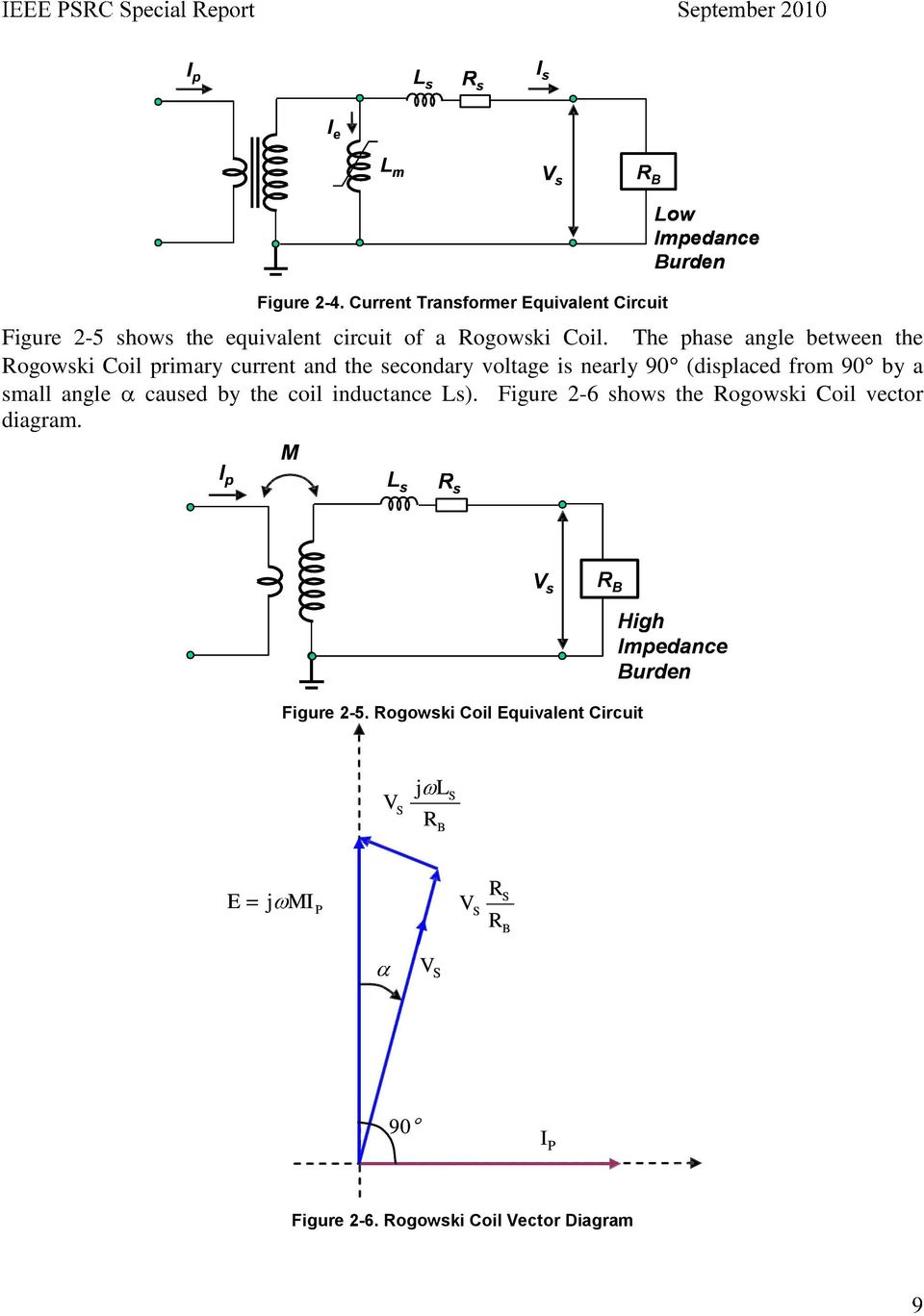 Practical aspects of rogowski coil applications to relaying pdf rogowski coil vector diagram the phase angle between the rogowski coil primary current and the secondary voltage is nearly 90 ccuart Image collections