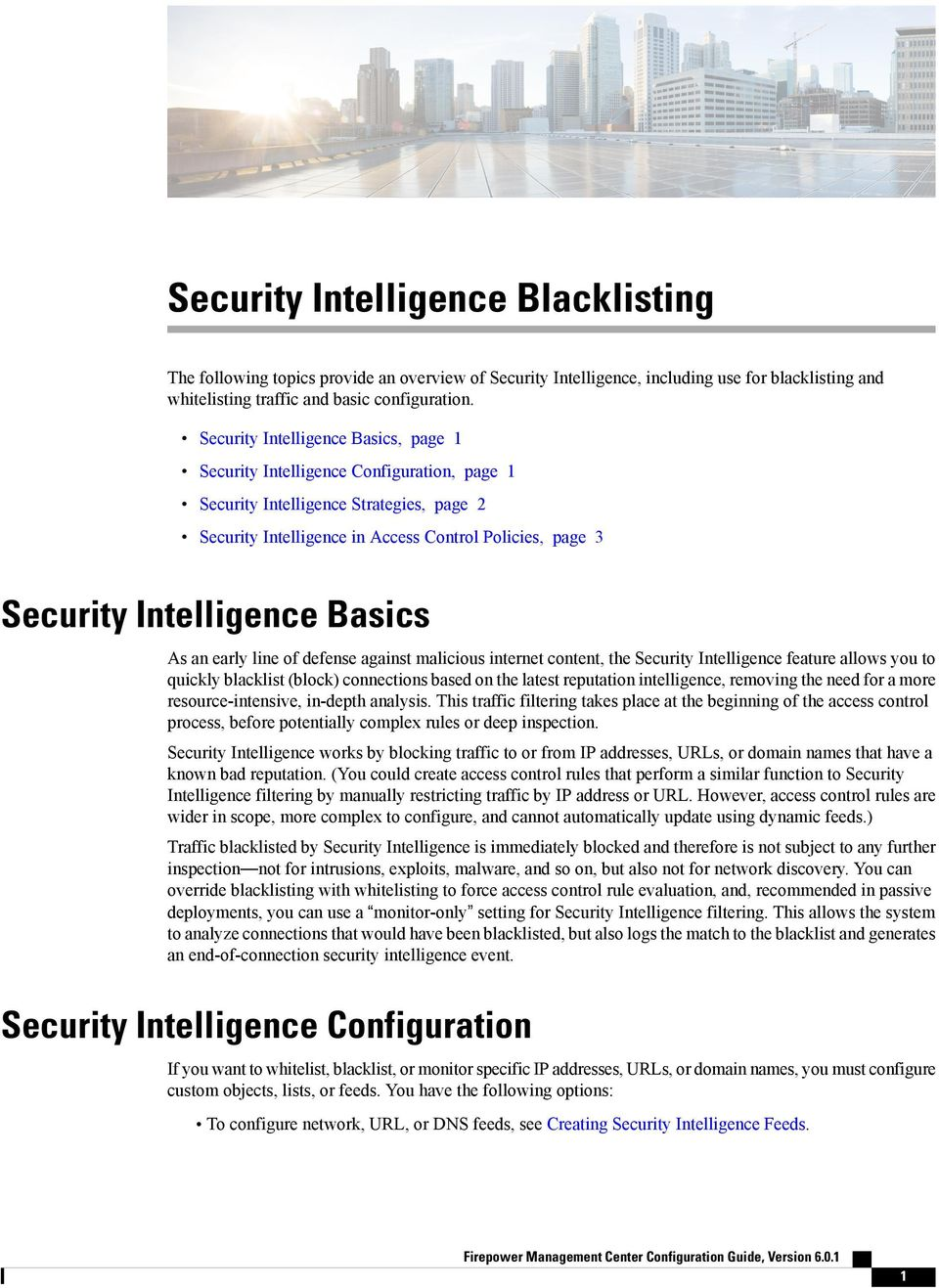 Security Intelligence Blacklisting - PDF
