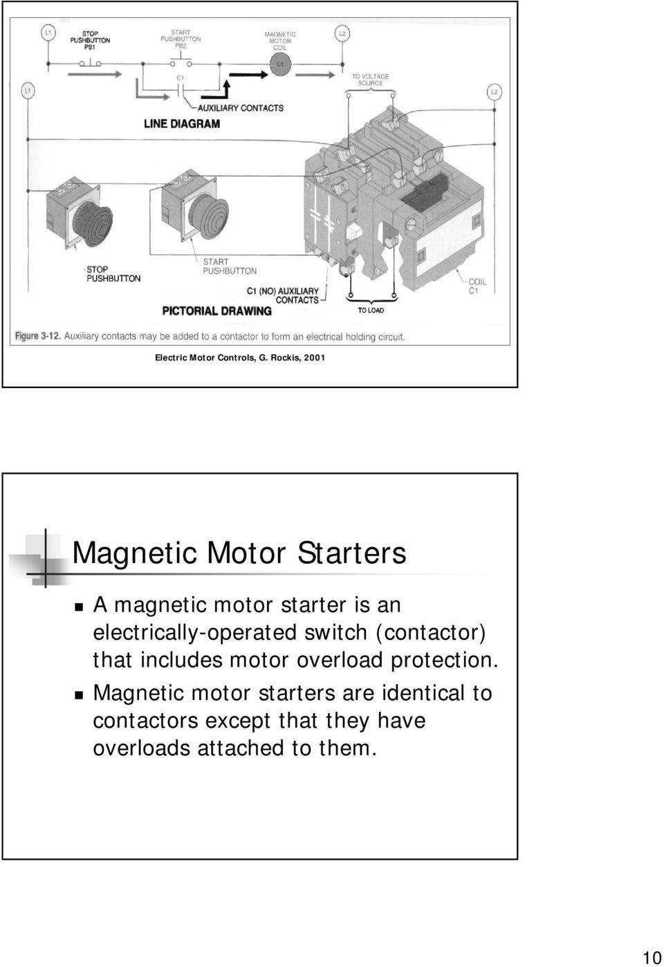 Electrical Symbols And Line Diagrams Pdf Multiple Start Stop Station Wiring Diagram Overload Protection