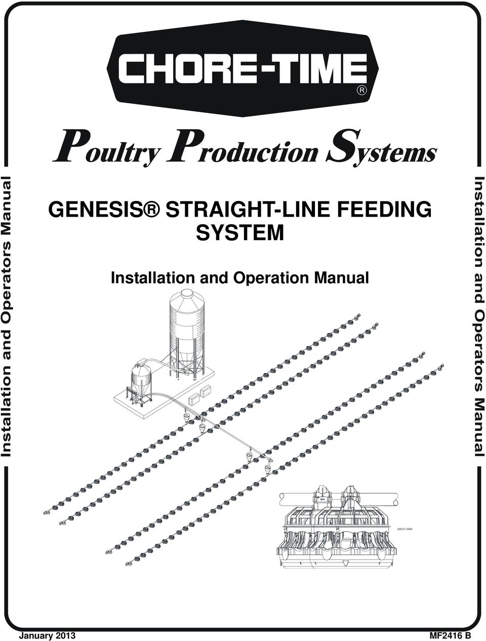 Genesis Straight Line Feeding System Installation And Operation Vertical Lift Wiring Diagram Transcription