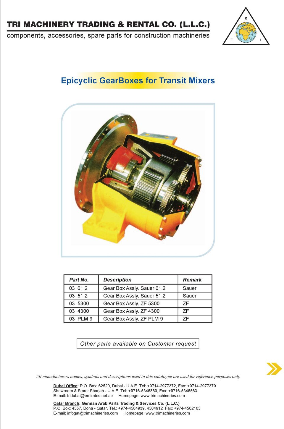 Spare Parts For Truck Mixers Section 3 Pdf Ford F150 4 9l Engine Diagram Transcription