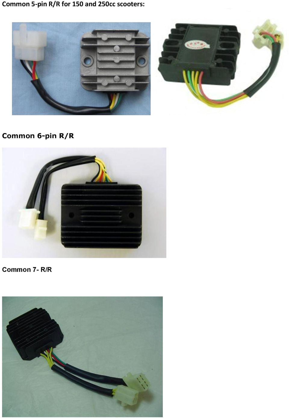 8 Coil Stator 11 Pdf 6 Pin Wiring Harness Scooter Scooters Common