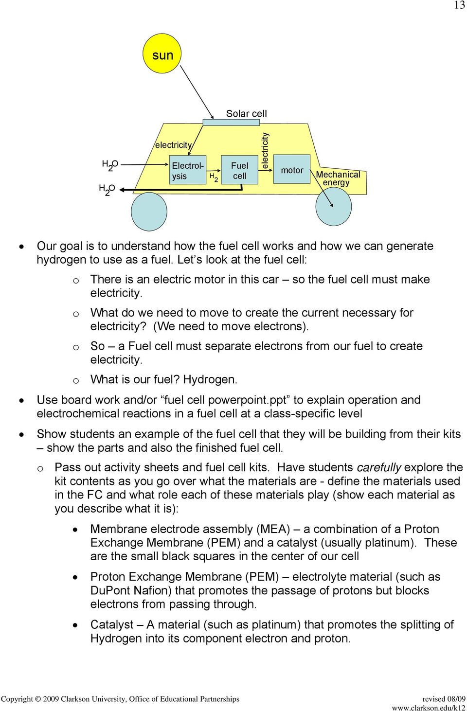Lesson 3 Battery and Fuel Cell Technologies - PDF