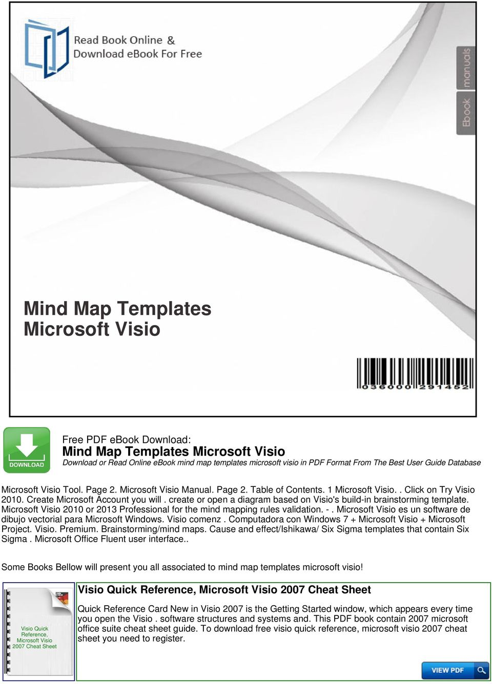 Mind map templates microsoft visio pdf 2010 or 2013 professional for the mind mapping rules validation es un software fandeluxe Image collections