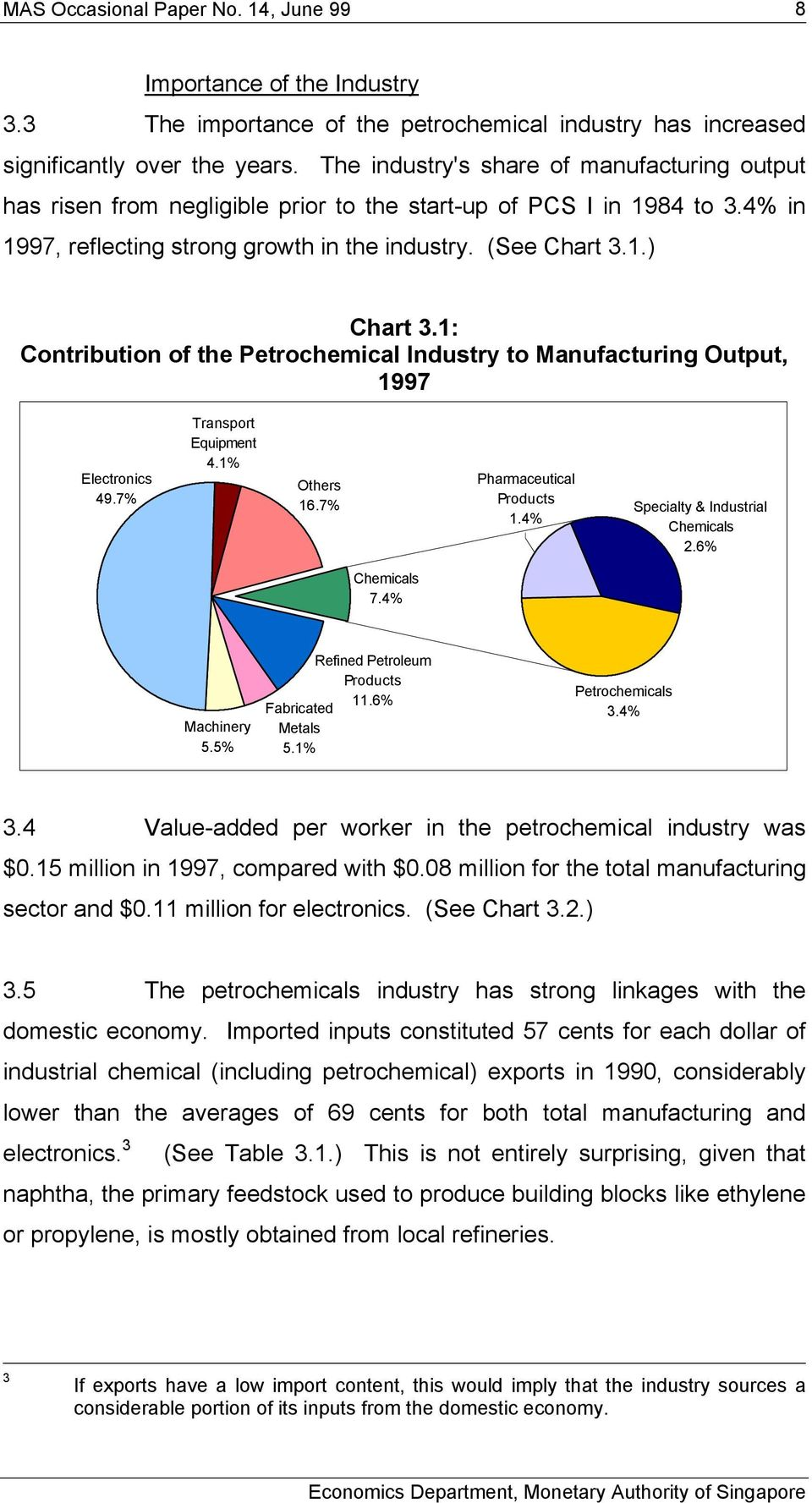 The Petrochemical Industry in Singapore - PDF