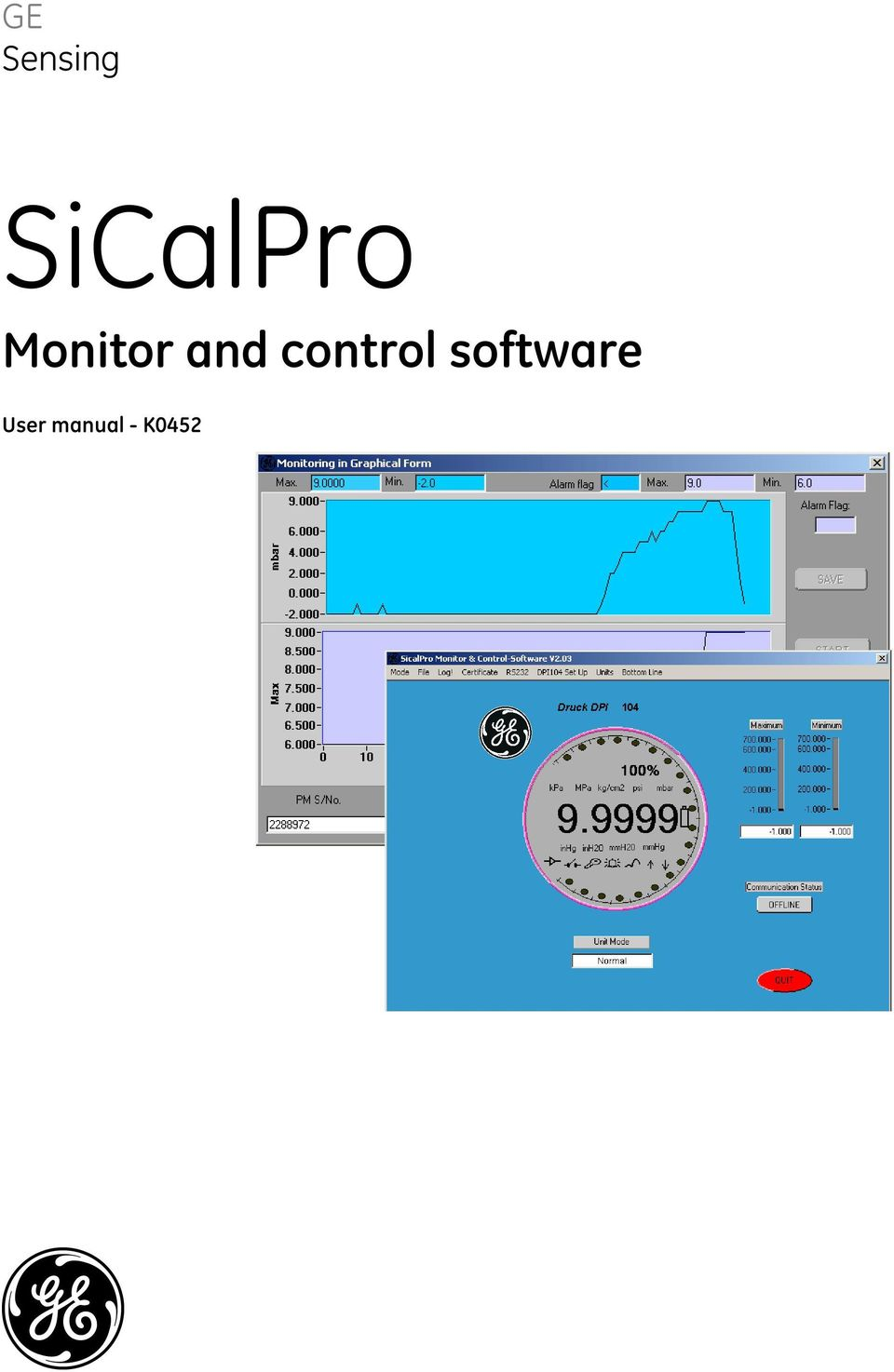 ... Array - ge sensing sicalpro monitor and control software user manual k  pdf rh docplayer net