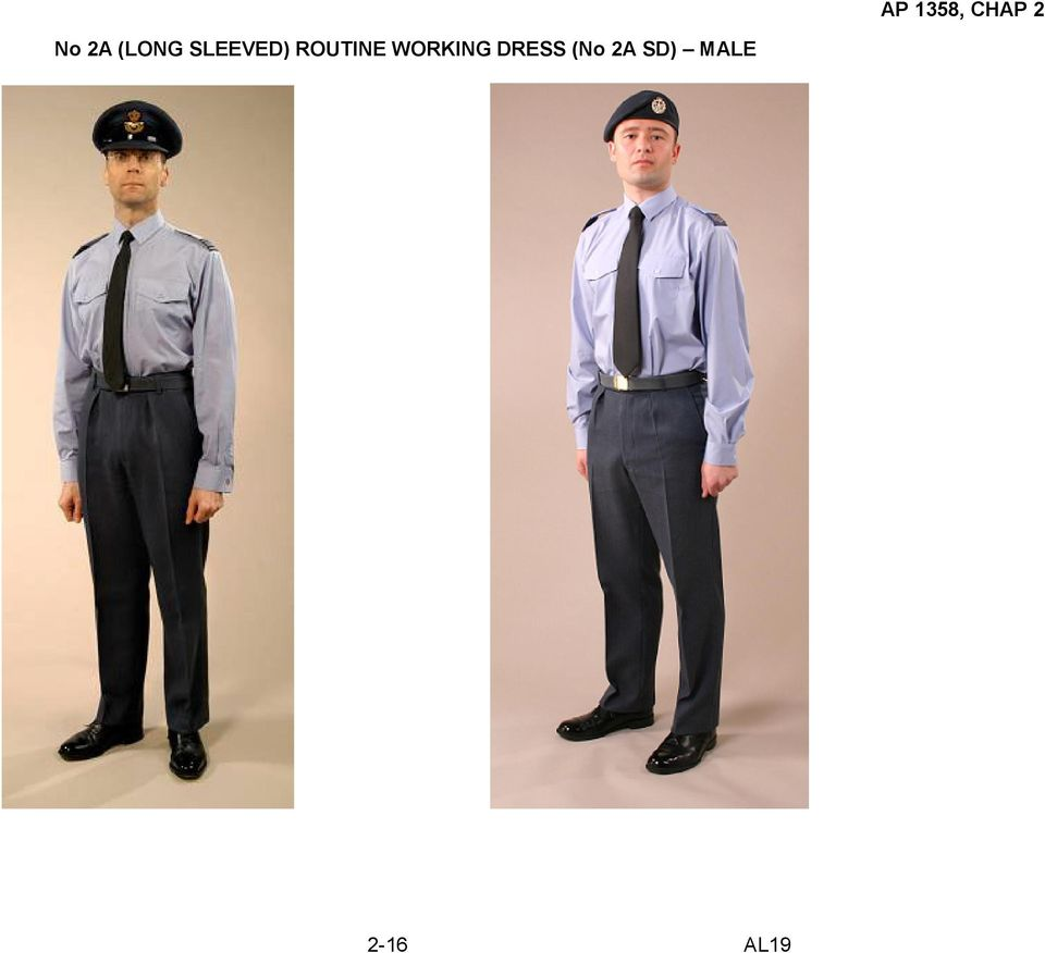 RAF ORDERS OF DRESS - MALE PERSONNNEL - PDF