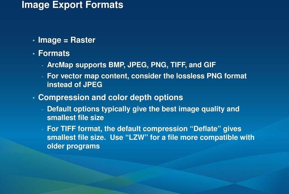 ArcGIS ArcMap: Printing, Exporting, and ArcPress - PDF