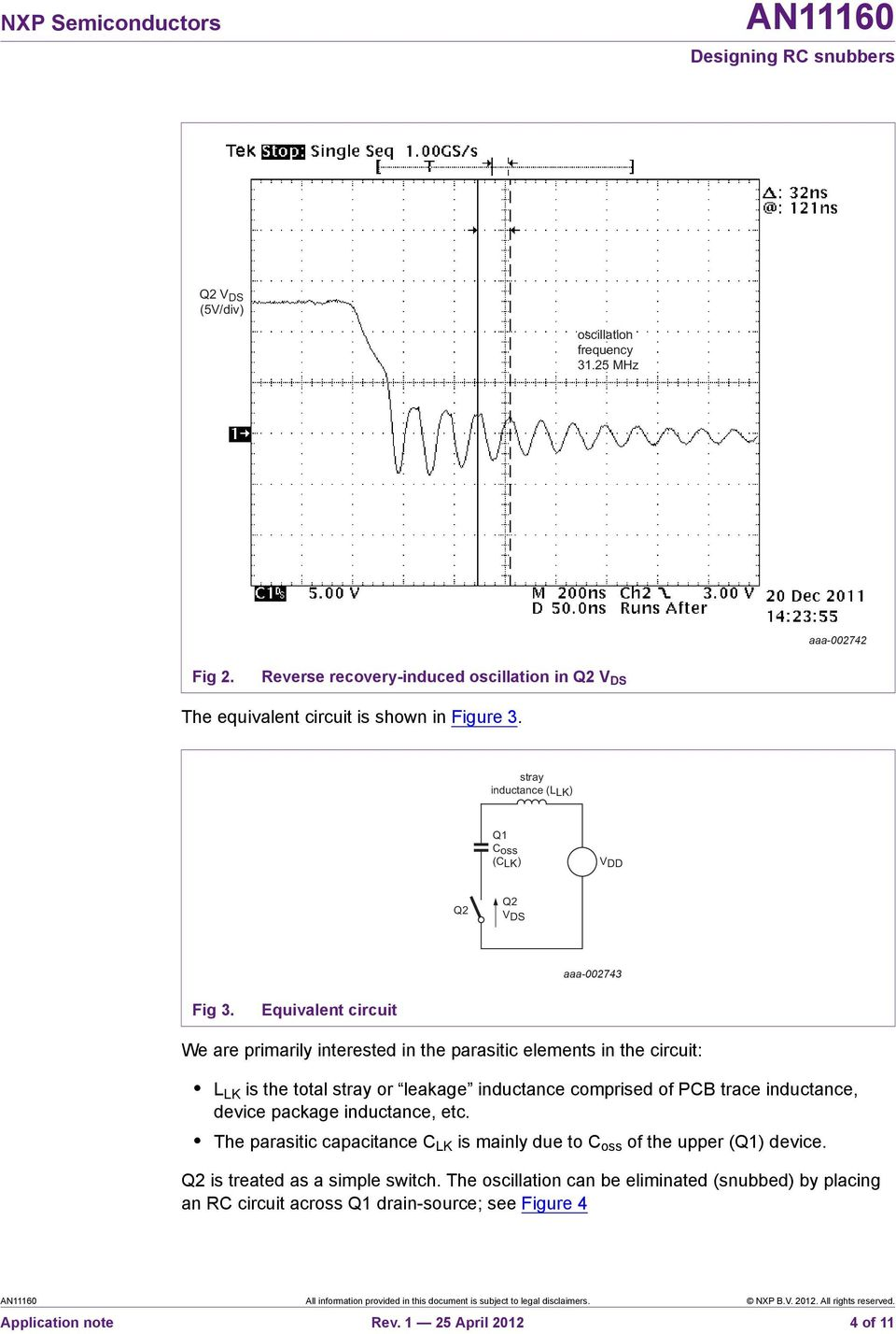 An Designing Rc Snubbers Pdf Snubber Circuits For Thyristor Control Single Switch Based On Equivalent Circuit We Are Primarily Interested In The Parasitic Elements L Lk
